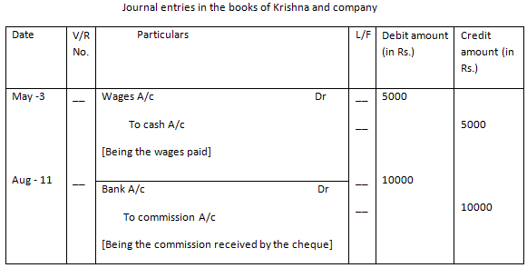Accounting Example
